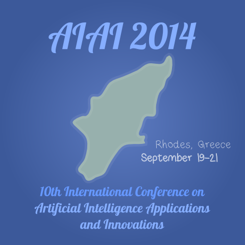 "Διεθνές συνέδριο ""Artificial Intelligence Applications and Innovations"" – AIAI 2014"
