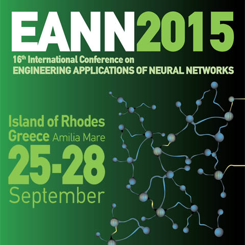 "Διεθνές συνέδριο «Engineering Applications of Neural Networks"" – EANN 2015"