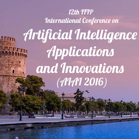 Διεθνές συνέδριο «Artificial Intelligence Applications and Innovations» – AIAI 2016