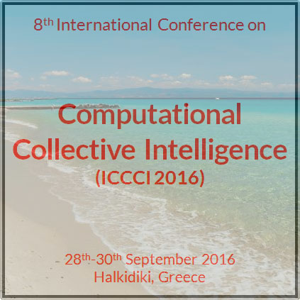 "Διεθνές συνέδριο ""Computational Collective Intelligence"" – ICCCI 2016"