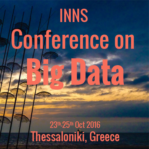 Διεθνές συνέδριο «INNS Conferece on Big Data» – INNS Big Data 2016