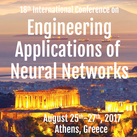 Διεθνές συνέδριο «Engineering Applications of Neural Networks» – EANN 2017